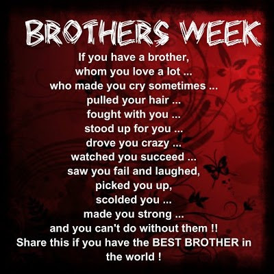Thank You Brother Quotes Sayings Thank You Brother Picture Quotes