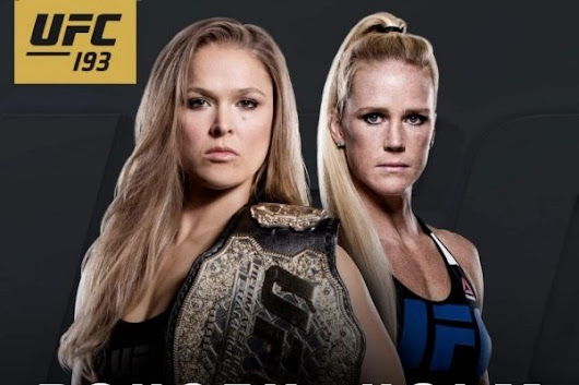 UFC 193 Results (Live)