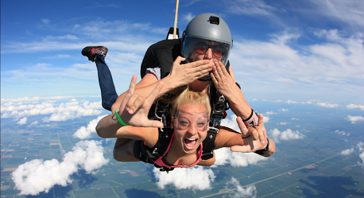 Re-live Your First Skydive With Our New Multimedia Packages