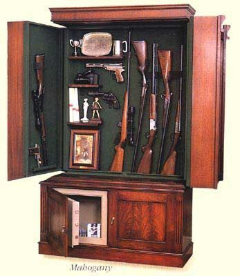 hidden gun cabinet  plain sight men stuff hidden