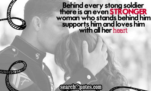 Quotes About Army And Love 51 Quotes