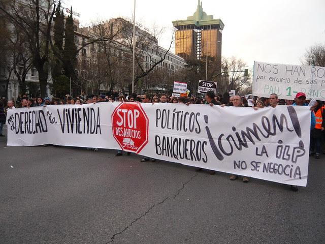 LA ILP NO SE NEGOCIA. ASAMBLEA CARABANCHEL #15M COMISIÓN DE VIVIENDA 21#16F