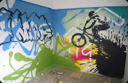 Graffiti Bedrooms | Kids Bedroom Artwork | Children's Bedroom ...