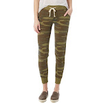 Alternative - Ladies' Jogger Eco-Fleece Pant-CAMO-S