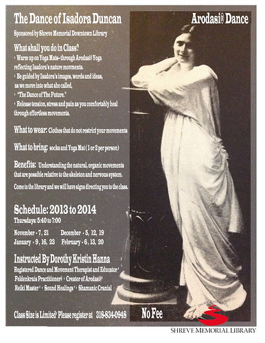 Yoga Isadora Duncan by trudeau