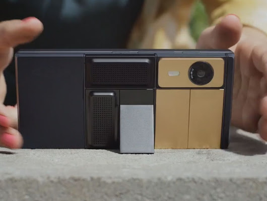 Google's modular smartphone Ara is still breathing and will launch in 2017