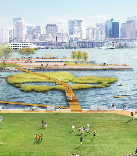 "To Become More Resilient, Boston Takes a ""Landscape First"" Approach"