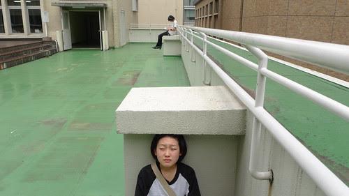 [3PM] Mika hiding from Terada