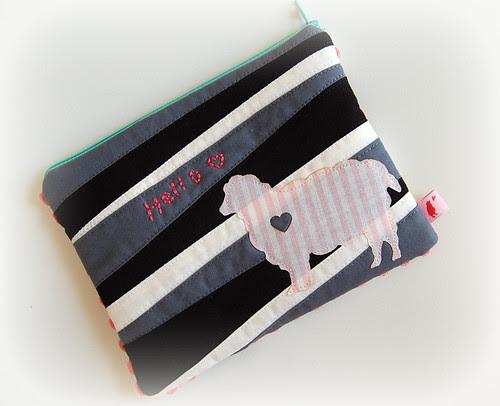 Sheep Zipper Pouch