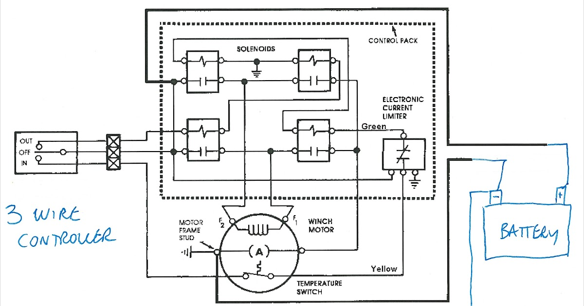 A2500 Warn Wiring Diagram