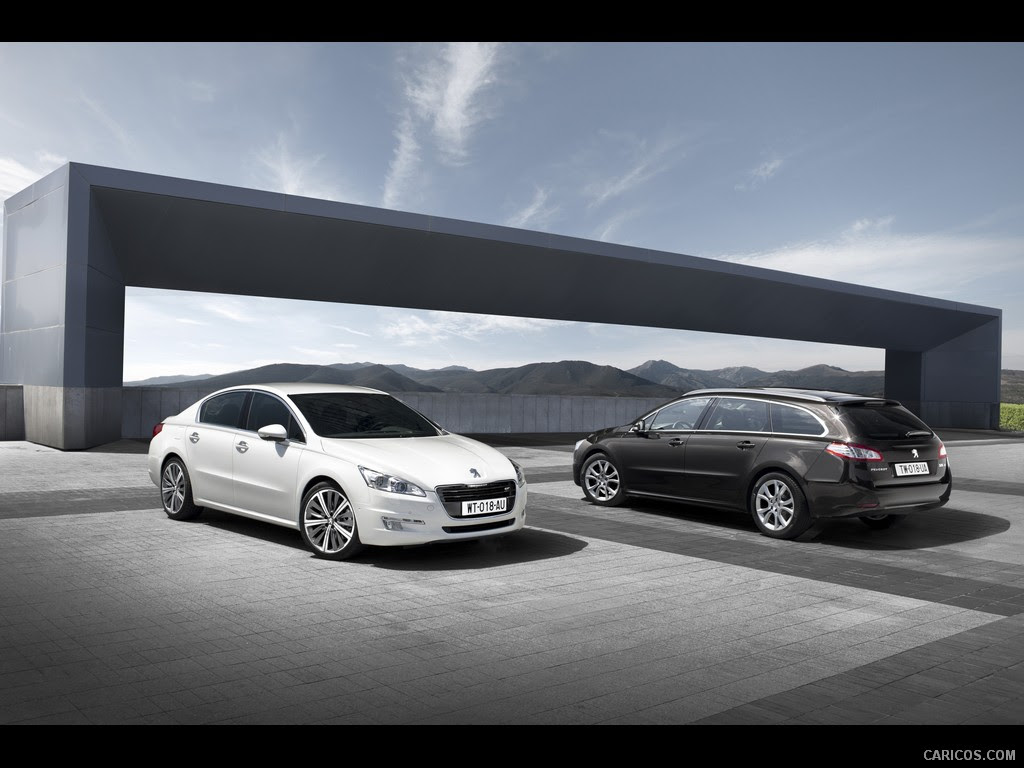 Peugeot 508 (2011) and 508 SW