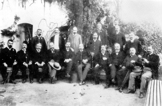 Archivo: Comité de rédaction de la Constitución crétoise 1906-1907.jpg