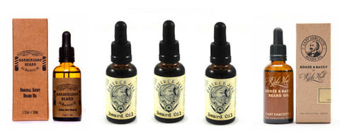 Beard Oils - Top 5 Sellers at The Beard Shed