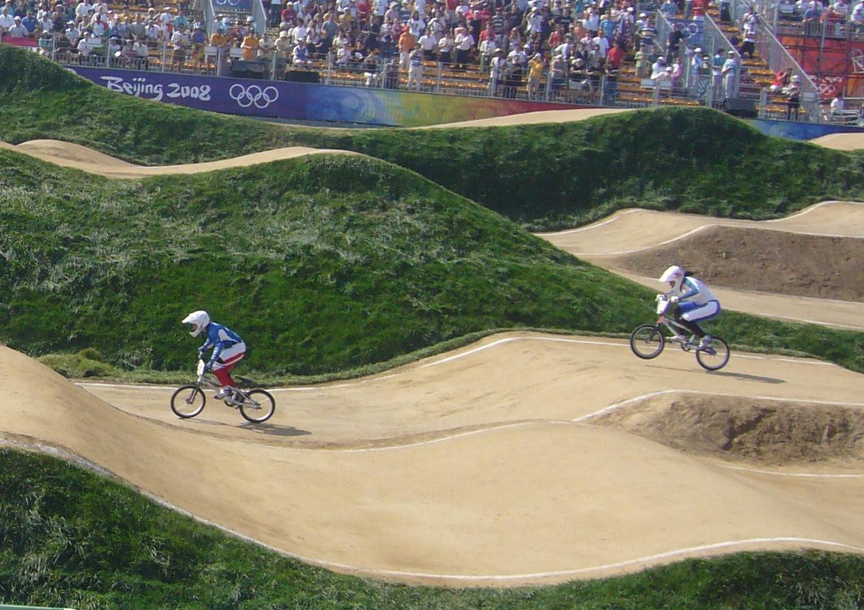 Le BMX aux Jeux Olympiques de Pékin en 2008