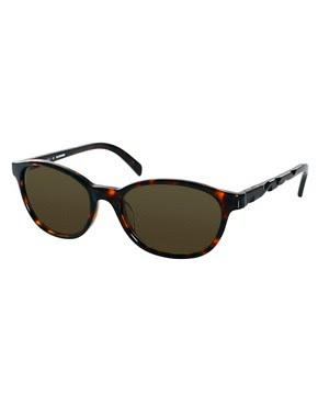 Image 1 ofJil Sander Detailed Frame Sunglasses
