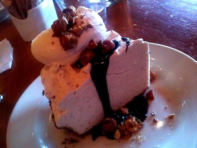 Banana ice cream pie @ Pizzeria Mozza