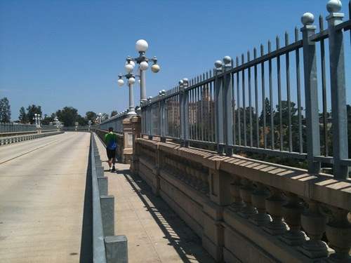 The Colorado St bridge is closed for some reason. Taking it anyway #urbanhike