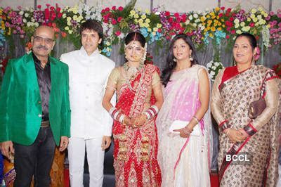Sooraj Thapar and Deepti Dhyani pose with friends after