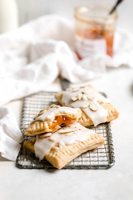 Homemade Apricot Almond Pop Tarts - Broma Bakery