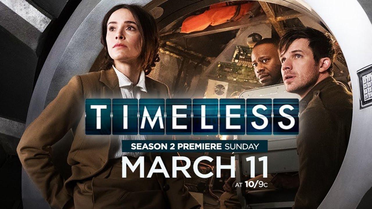 Resultado de imagem para Timeless season 2