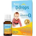Ddrops Baby Vitamin D3, 400 IU, Liquid, Drops - 90 drops, 0.08 fl oz