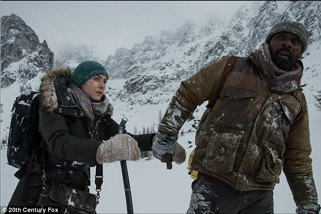 Onscreen love: The pair star in romance disaster movie The Mountain Between Us together