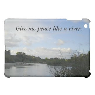 iPad Case: Inspirational with Salinas River iPad Mini Cover