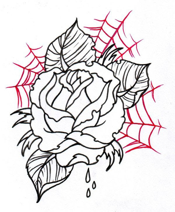Rose Black And White Outline Free Download Best Rose Black And