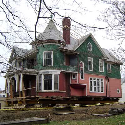 Winner: Colorful Queen Anne Restoration: Before from this old house curb appeal finalists 2012