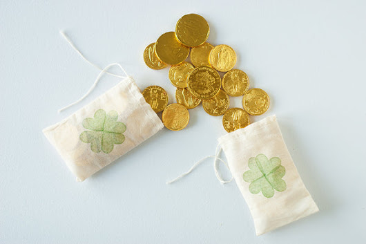 Bag of Gold Stamped Bags