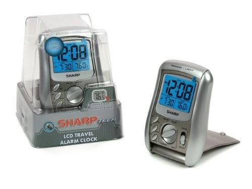 Noella C Arnold Sharp 0 6 Lcd Folding Travel Alarm Clock