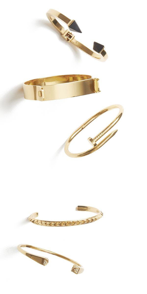 live off the cuff! master the art of the stack with these striking cuffs