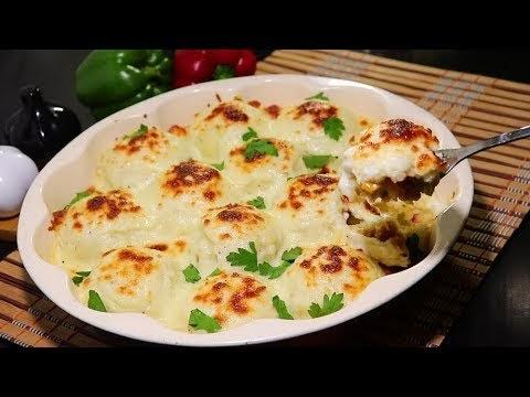 كرات البطاطس المحشية بالدجاج والخضار مع صلصة لذيذة /وجبة سهلة وسريعة والطعم رووعة