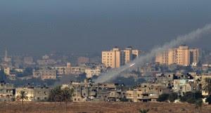 Raket afgevuurd vanuit stedelijk gebied in Gazastrook