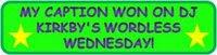 Wordless wednesday award