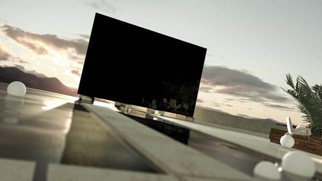 El mayor televisor del mundo es casi tan grande como una casa