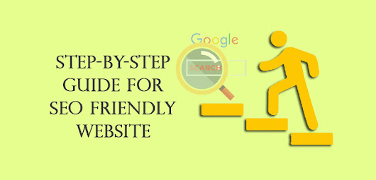 Step by step guide to design SEO friendly website - ClickPoint Solution | Blog