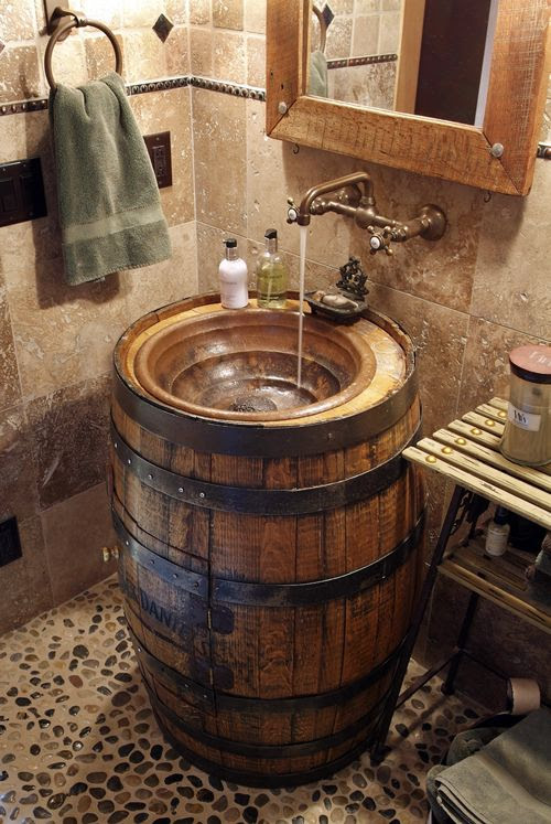5 Most Popular Rustic Bathroom Ideas on Pinterest in 2017
