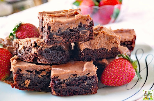 The Ultimate Double Chocolate Brownies Recipe.