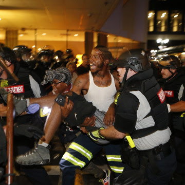 Image: Protests in Charlotte, N.C.