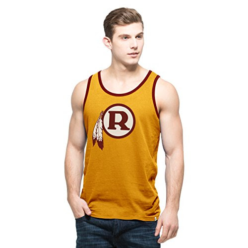 NFL Washington Redskins Mens 47 Crosstown Tank Top, XLarge, Galley Gold Apparel Accessories