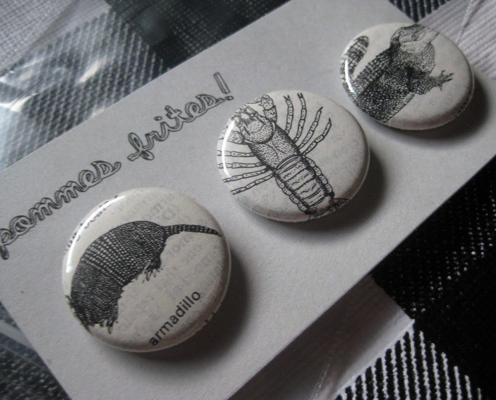 dictionary illustration pin pack ''EAST TEXAS''