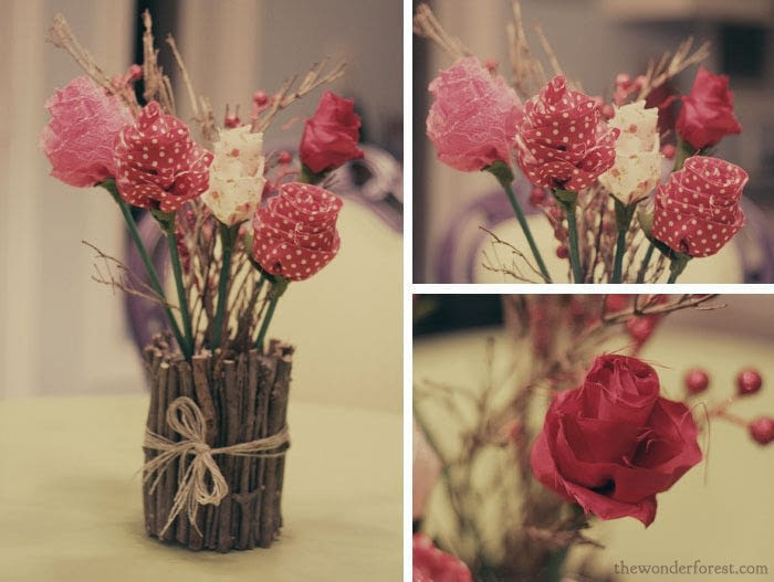Diy Fabric Flower Bouquet · How To Make A Bouquet · Decorating ...
