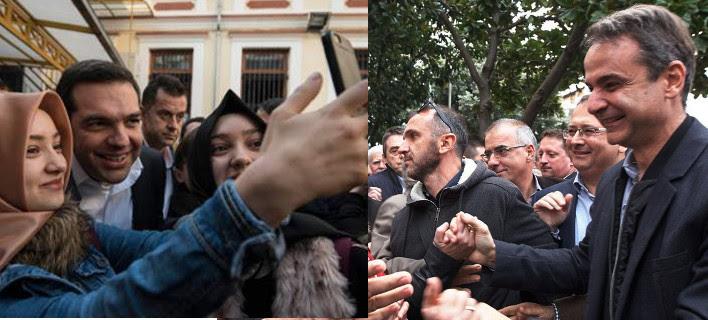 Περιοδείες με άρωμα εκλογών: Ο Τσίπρας στη Θράκη, ο Μητσοτάκης Ηπειρο