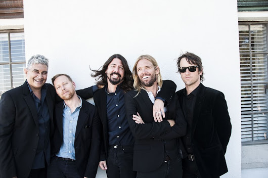 Foo Fighters confirmados no NOS Alive'17