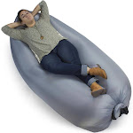 Brybelly Inflatable Camping Couch, Slate