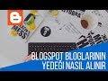 Blogspot Bloglarının Yedeği Nasıl Alınır