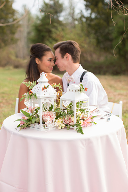 Romantic Southern Wedding Inspiration Style Shoot