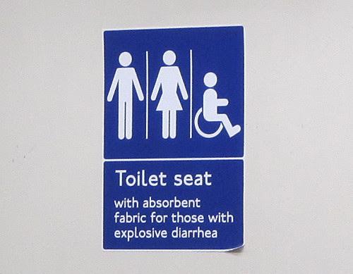 Tube Toilet Seat