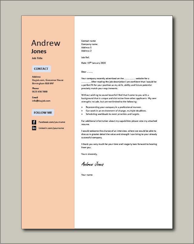 How To Write An Application Letter For Attachment - The 12 Best Cover Letter Examples To Nail Your Next Job Application Freesumes
